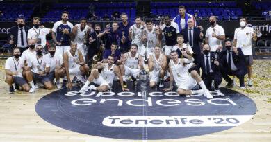 Se repite la historia: Real Madrid campeón y Campazzo MVP