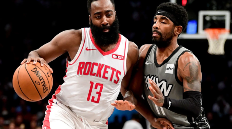 James Harden (Houston Rockets) y Kyrie Irving (Brooklyn Nets)
