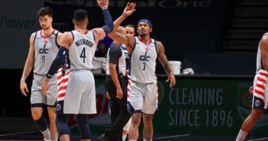 Russell Westbrook y Bradley Beal - Washington Wizards