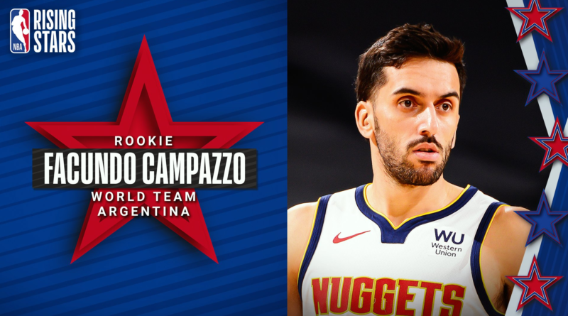 Facundo Campazzo (Nuggets) - Rising Stars Challenge