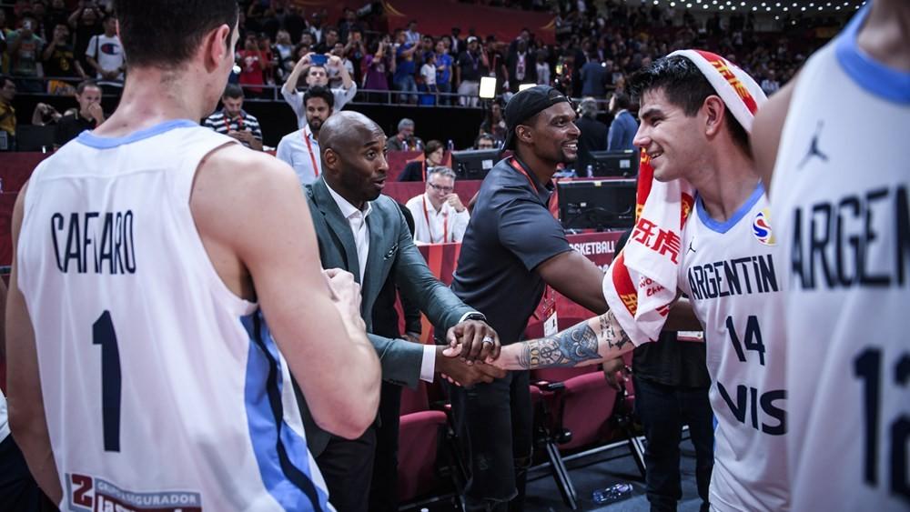 Gabriel Deck y Kobe Bryant
