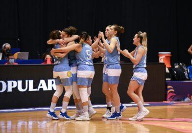 Argentina debutó con victoria en la Americup