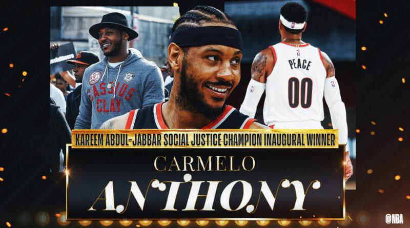 Carmelo Anthony - Kareem Abdul-Jabbar Award