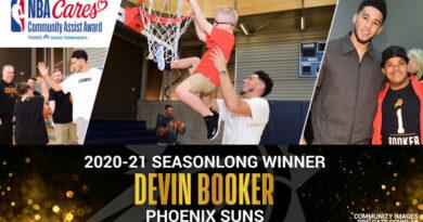 Devin Booker (NBA Cares)