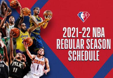 Calendario de la NBA 2021/22